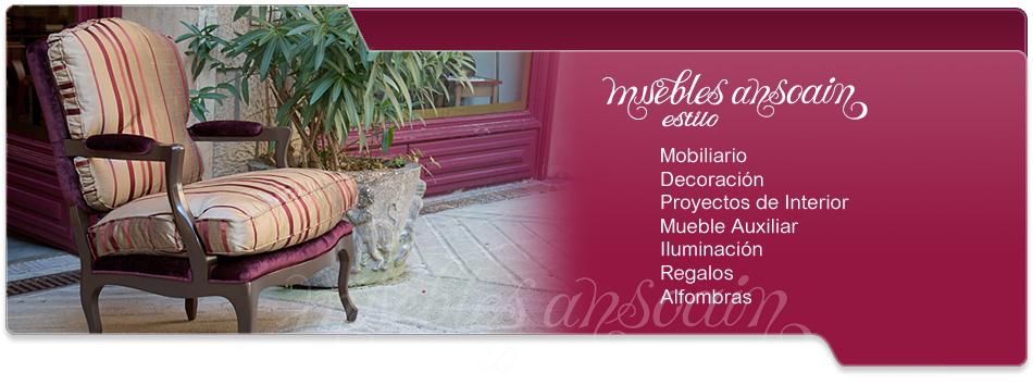 Mobiliario clásico en Navarra